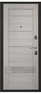 Дверь ДМ Атлант Танго Сандал белый (Внутренняя)
