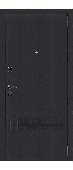 Дверь ДМ Атлант Техно Черный шелк (Внешняя)