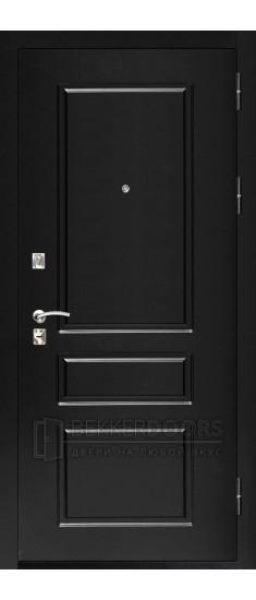 Дверь ДМ Честер Черный (Внешняя)