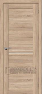 Дверь ЭКО Порта-19.3 Light Sonoma  Magic Fog
