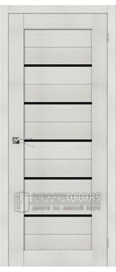 Дверь ЭКО Порта-22 Bianco Veralinga Black Star