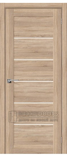 Дверь ЭКО Порта-22 Light Sonoma Magic Fog