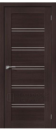 Дверь ЭКО Порта-28 Wenge Veralinga Magic Fog