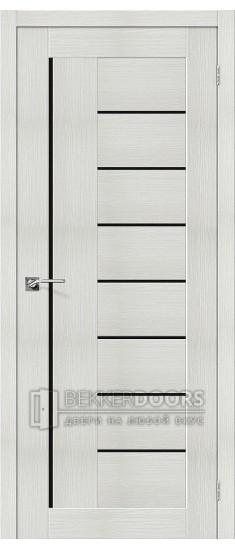 Дверь ЭКО Порта-29 Bianco Veralinga Black Star