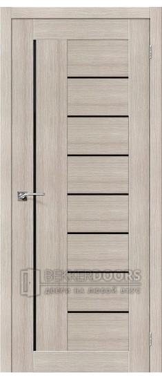 Дверь ЭКО Порта-29 Cappuccino Veralinga Black Star