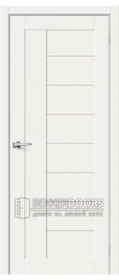 Дверь  HF Браво-29 White Mix Magic Fog