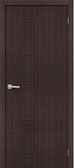 Дверь Браво Тренд-3 3D Wenge