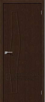 Дверь Браво Мастер-7 3D Wenge
