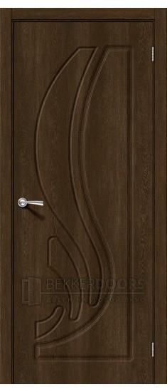 Дверь Лотос-1 ПГ Dark Barnwood