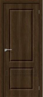 Дверь Скинни-12 ПГ Dark Barnwood