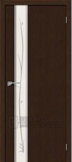 Дверь Браво Глейс-1 Twig 3D Wenge