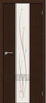 Дверь Браво Глейс-2 Twig 3D Wenge