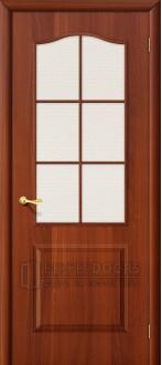 Дверь Браво Палитра Л-11 (ИталОрех) ПО СТ-Хрусталик