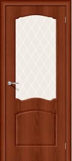 Дверь Альфа-2 ПО Italiano Vero White Сrystal