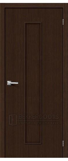 Дверь Браво Тренд-13 3D Wenge