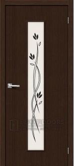 Дверь Браво Тренд-14 3D Wenge СТ-Etude