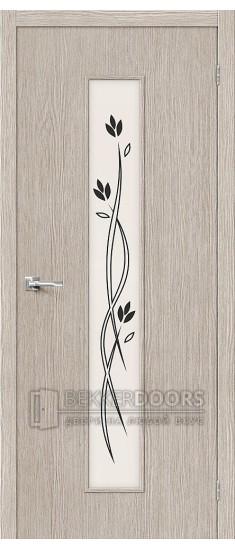 Дверь Браво Тренд-14 3D Cappuccino СТ-Etude