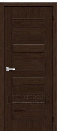 Дверь Браво Тренд-21 3D Wenge