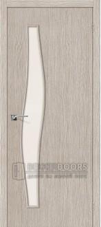 Дверь Браво Мастер-8 3D Cappuccino