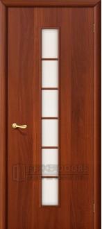 Дверь Браво 2С Л-11 (ИталОрех) ПО СТ-Сатинато