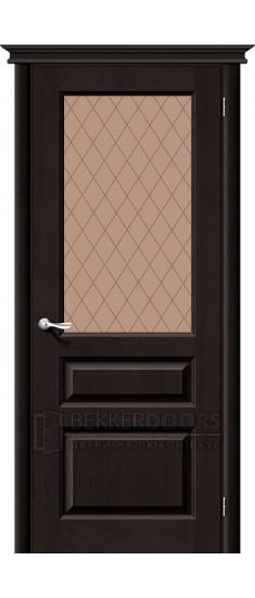 Дверь Браво М5 Т-05 (Темный Лак) ПО СТ-