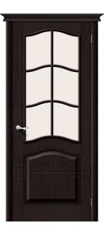 Дверь Браво М7 Т-06 (Темный Лак) ПО СТ-Сатинато