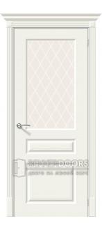 Дверь BekkerDoors Ск-15.1 Whitey White Сrystal