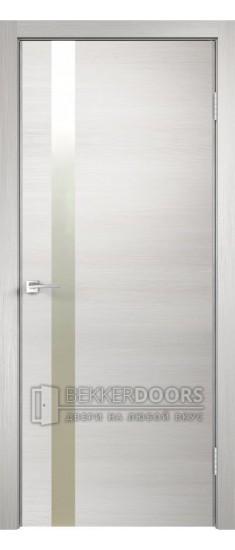 Дверь TEСHNO Z1 Дуб белый поперечный