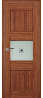 Дверь ПО 5X  Амари Стекло Узор матовое коричневый фьюзинг
