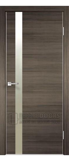 Дверь TEСHNO Z1 Дуб серый поперечный