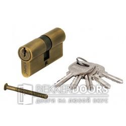 Цилиндр ключ-ключ бронза