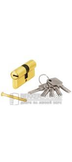 Цилиндр ключ-ключ золото