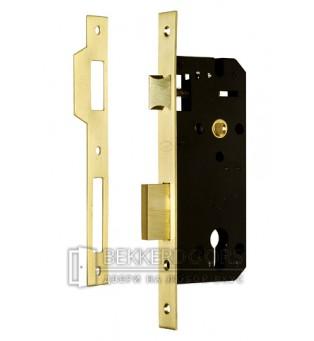 Корпус замка ИТАРОС 85x45-1П золото
