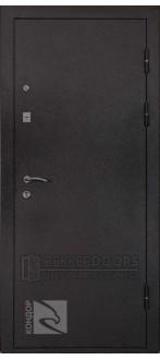 Дверь Престиж Черный шелк (Внешняя)